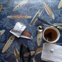 Скатерть в кафе