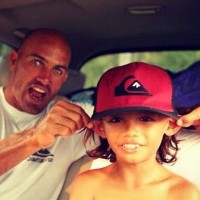 kelly slater and kid