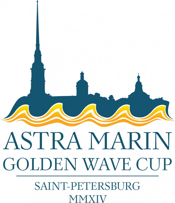 Gold wave cup
