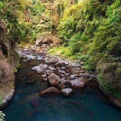Изображение река к водопаду Алинг-алинг на Бали