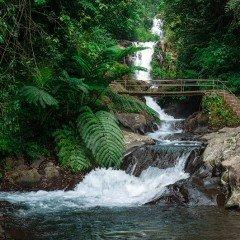 Изображение водопад Гит-гит на Бали Git Git Waterfall